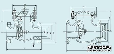 gb 12236 -1989】 【通用阀门 铁制截止阀与升降式止回阀—gb图片